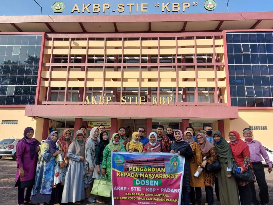 Pengabdian Masyarakat Dosen AKBP - STIE Padang