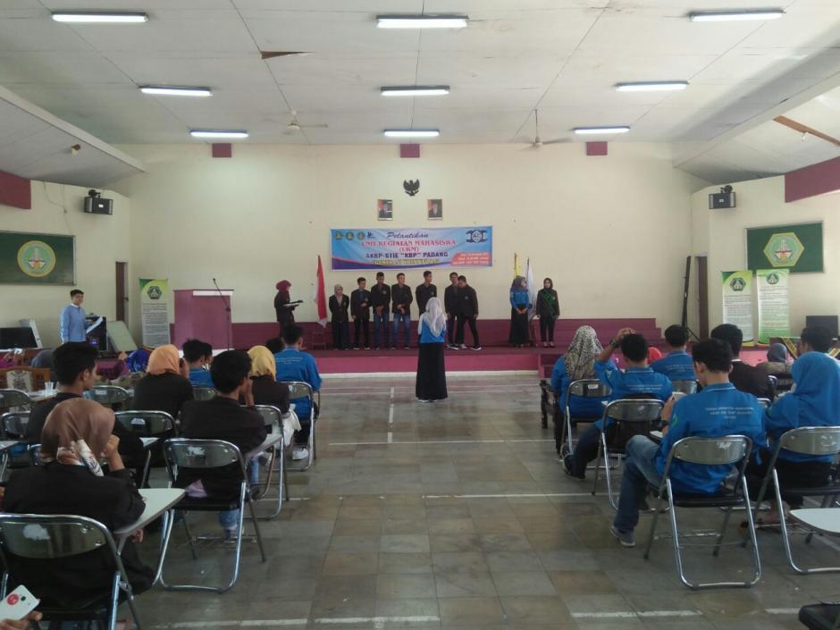Pelantikan unit kegiatan mahasiswa (UKM)