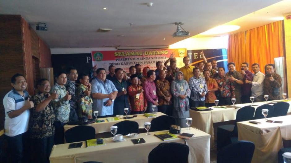 Bimbingan Teknis Bagi Anggota DPRD Pasaman Barat